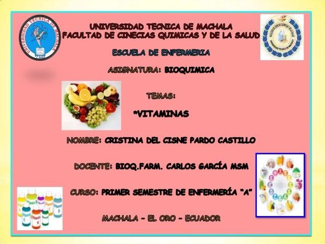 INTRODUCCIÓN  LAS  VITAMINAS son compuestos orgánicos que actúan de manera eficiente en el  organismo en pequeñas cantida...