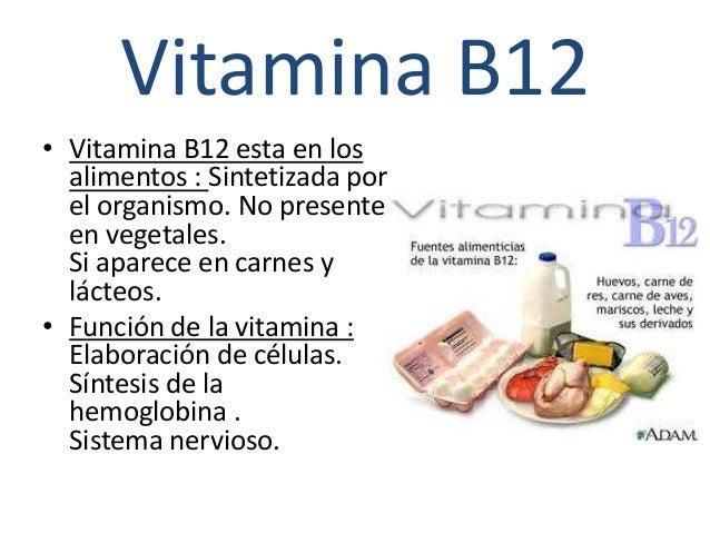 Vitaminas - En que alimentos esta la vitamina b12 ...