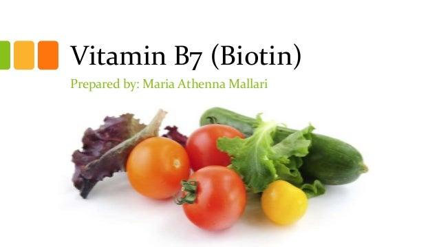 Vitamin B7 Structure
