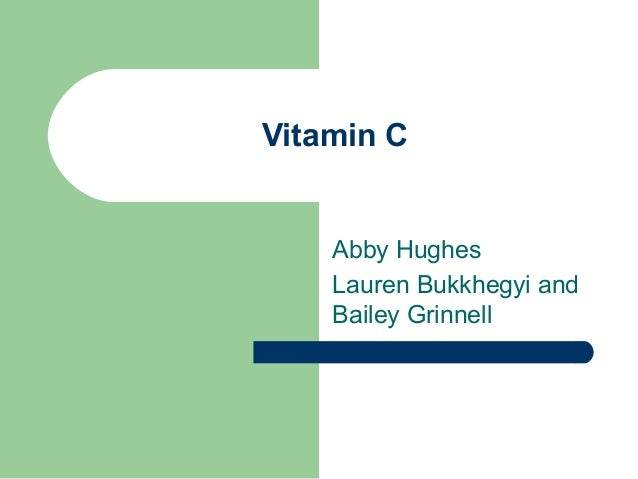 Vitamin C power point