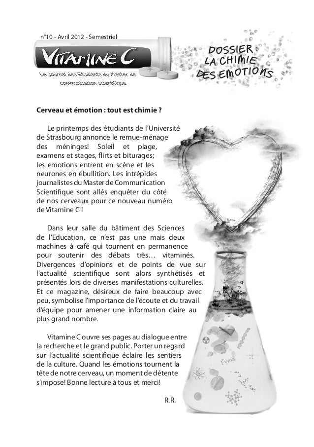 n°10 - Avril 2012 - Semestriel                                                      DOSSIER :                             ...
