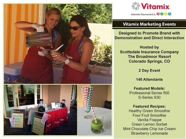 Vitamix Marketing Events