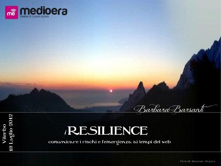 IResilience Medioera2012