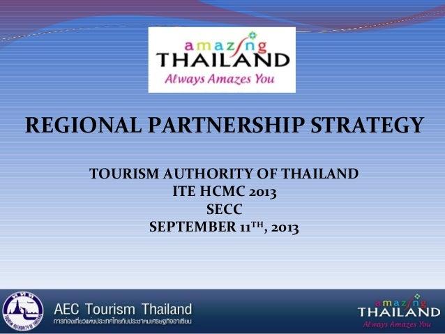 Vitm 2013 amazing thailand presentation