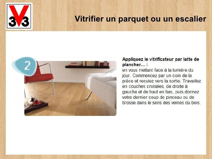 vitrifier un parquet ou un escalier. Black Bedroom Furniture Sets. Home Design Ideas