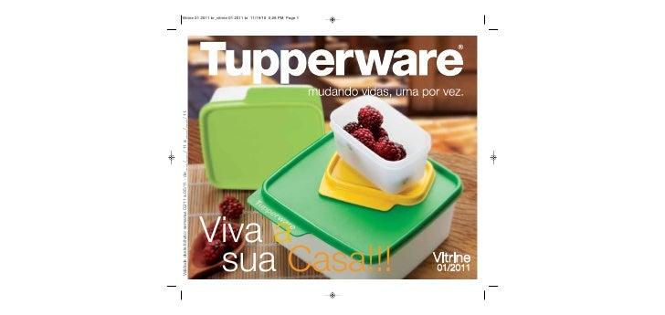 Vitrine Tupperware 01/2011