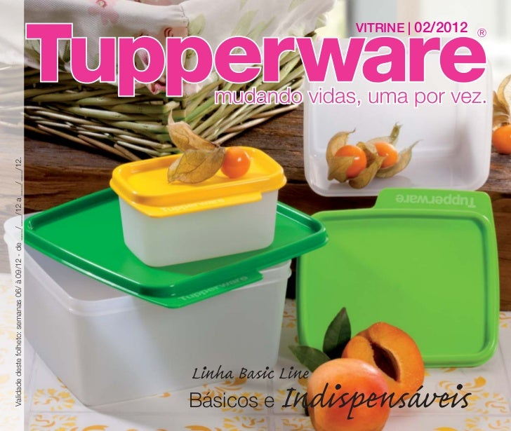 Vitrine 02 2012 Tupperware Essencial