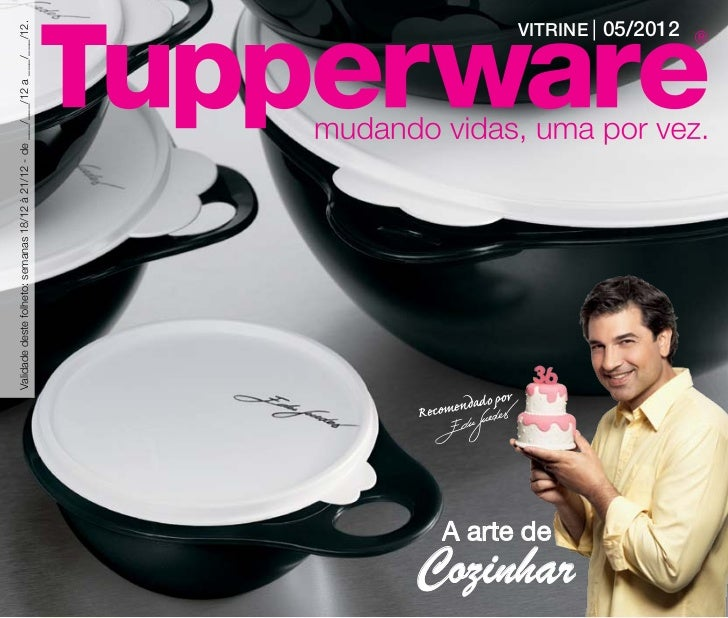 Vitrine 05 2012 Tupperware Essencial