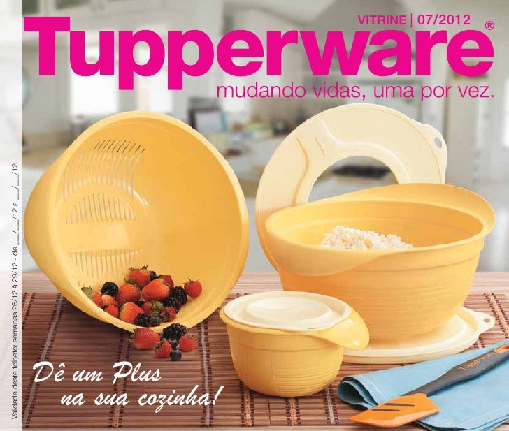 Vitrine 07-2012 Tupperware Essencial
