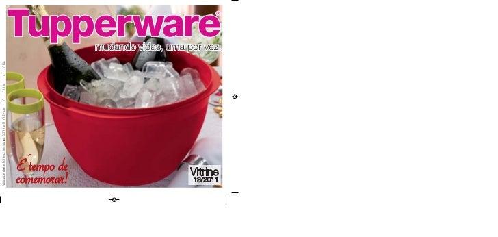 Vitrine 13 2011 tupperware essencial
