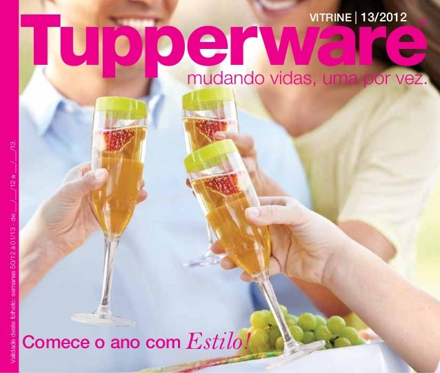 Vitrine 13/2012 Tupperware