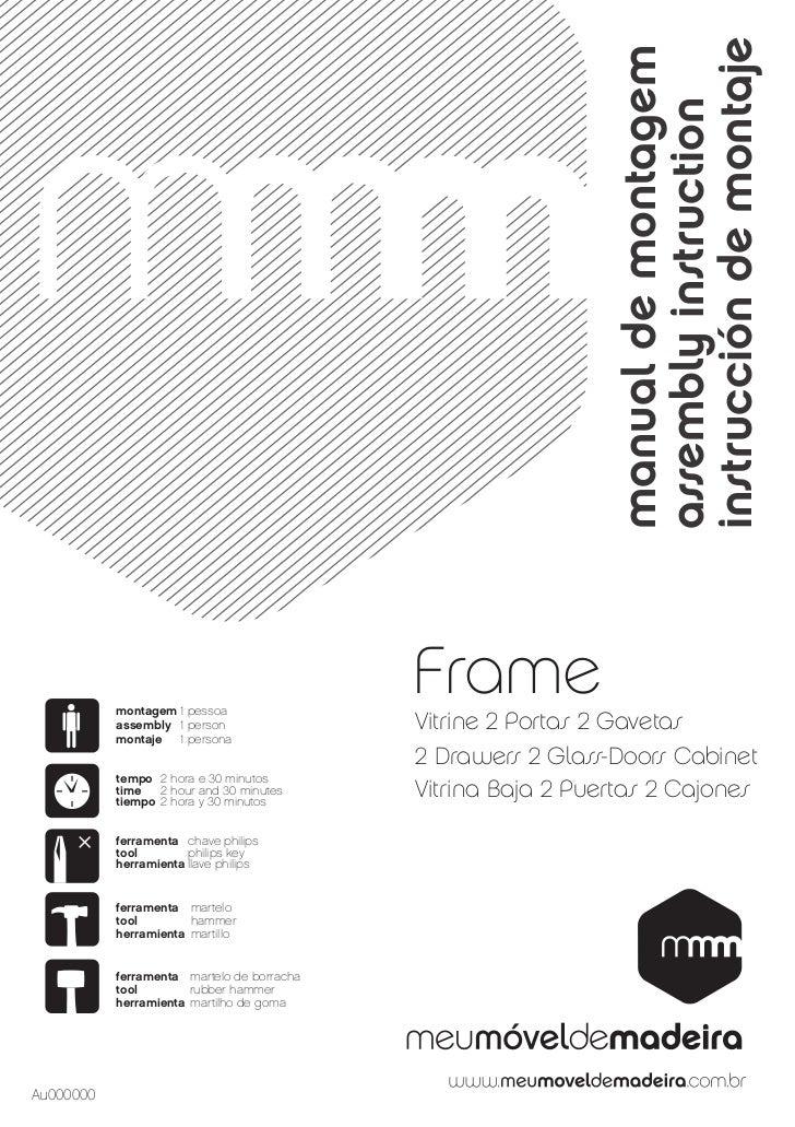 Vitrine Baixa - Frame