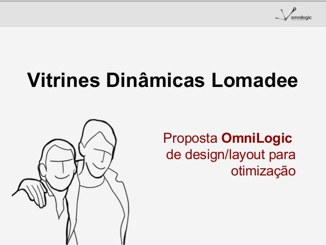 Vitrines Dinâmicas Lomadee Proposta OmniLogic de design/layout para otimização