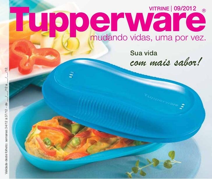 Vitrine Tupperware 09/2012  RJ-ES-SC-PR