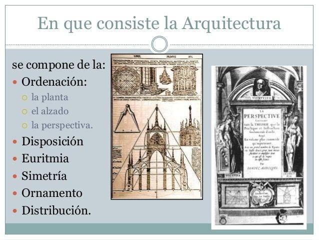 Los 10 libros de vitruvio for En que consiste la arquitectura