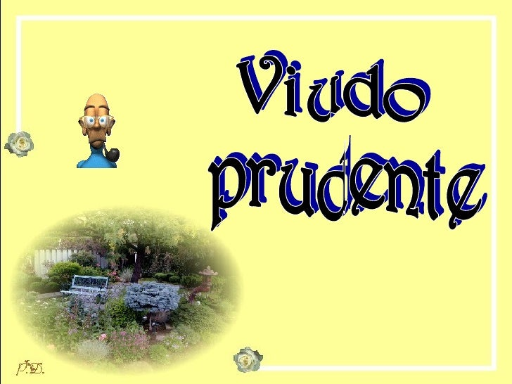 Viudo prudente