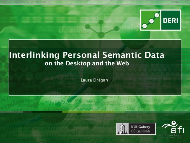 Interlinking Personal Semantic Data on the Semantic Desktop and the Web of Data