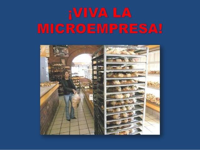 Viva la microempresa! diapositivas