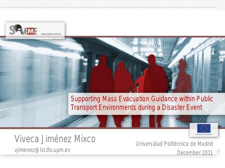 Supporting Mass Evacuation Guidance within Public                          Transport Environments during a Disaster EventV...