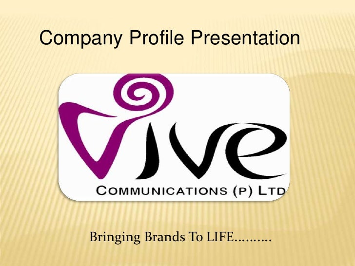 Vive Corporate Profile