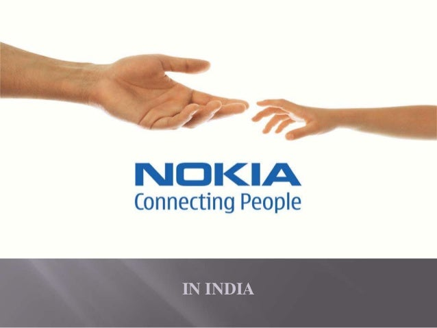 Presentation on nokia overall started