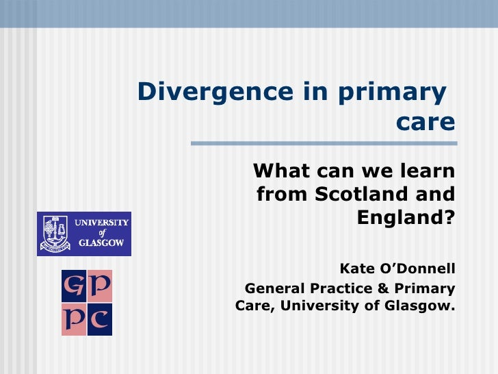 Divergence in Primary Care