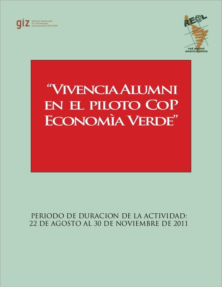 """""""Desde mi experienciapersonal como inte-grante del Comité de       """"Vivencia AlumniGestión Forestal Sos-tenible de Institu..."""