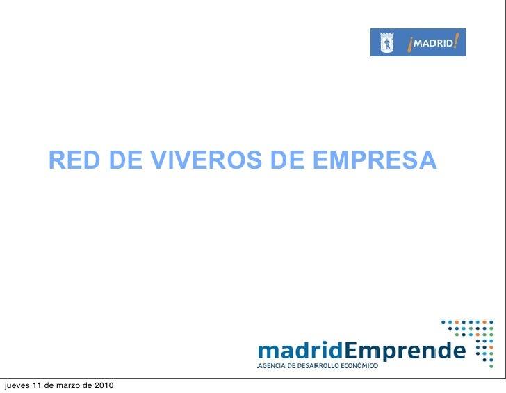 Vivero De Empresas De Carabanchel   Madrid Emprende