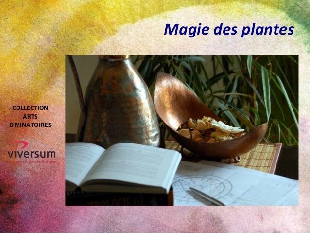 Magie des plantes COLLECTION ARTS DIVINATOIRES