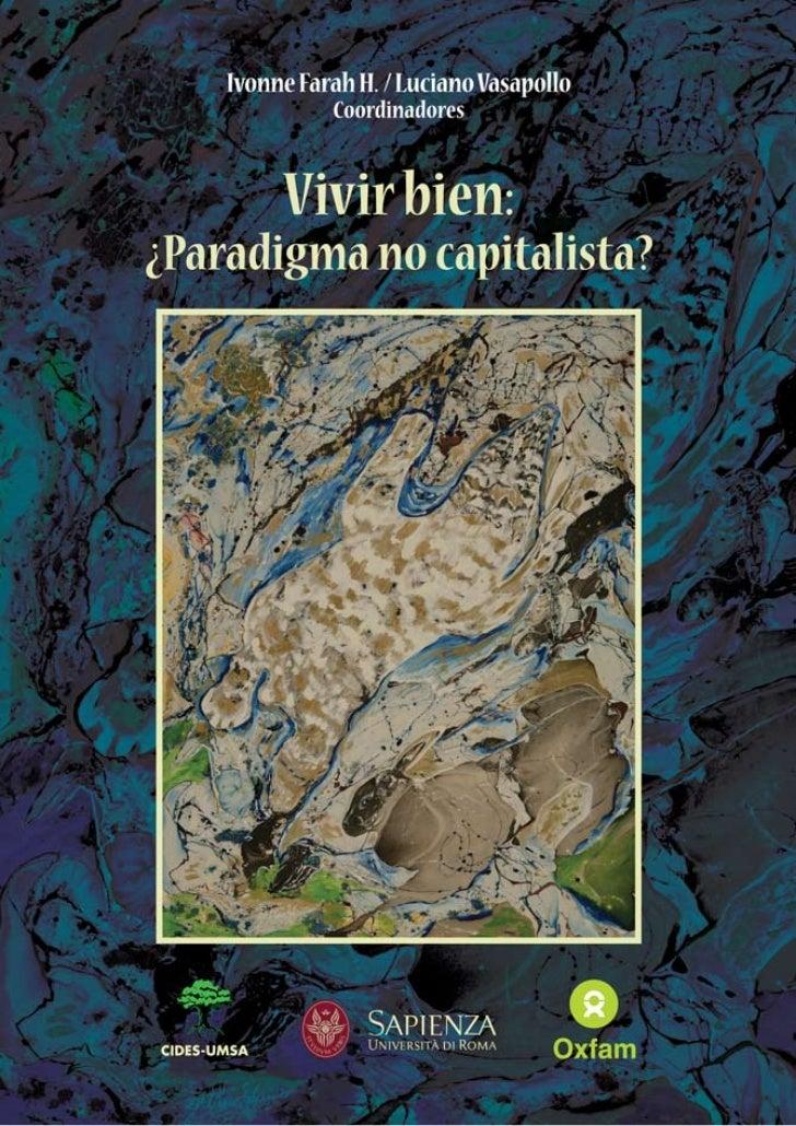 Libro Vivir Bien ¿Paradigma no capitalista?