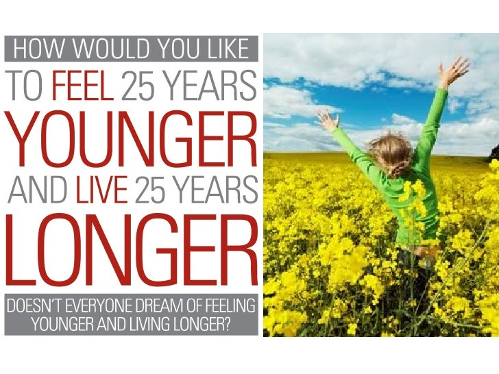 Doesn't Everyone Dream of Feeling      Younger and Living Longer?       Unlocking the secrets to longevity is the ultimate...