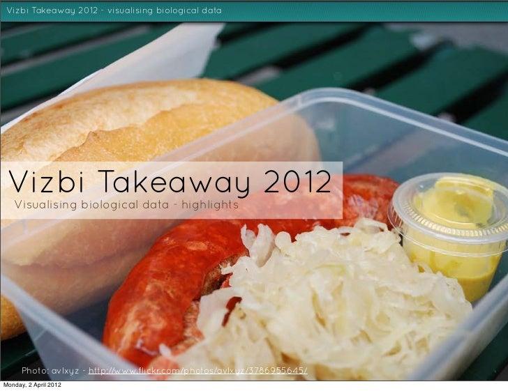 Vizbi 2012 Takeaway