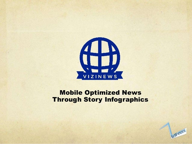 Mobile Optimized NewsThrough Story Infographics