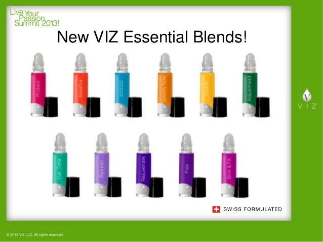 New VIZ Essential Blends!