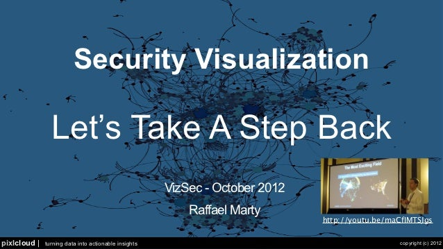 Security Visualization                Let's Take A Step Back                                                      VizSec -...