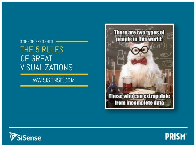 The 5 Rules of Great Visualizations