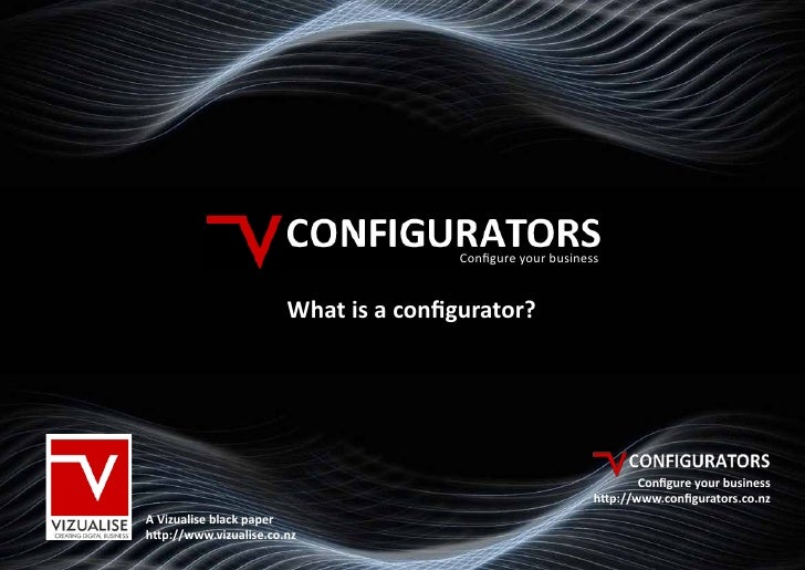 Configure your business                           What is a configurator?                                                 ...