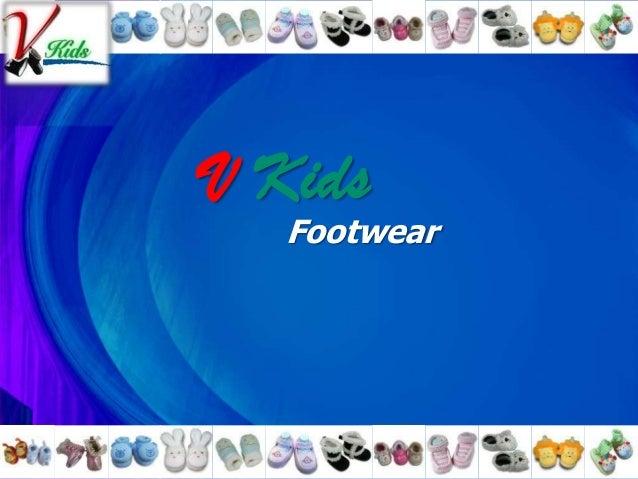 V Kids Footwear