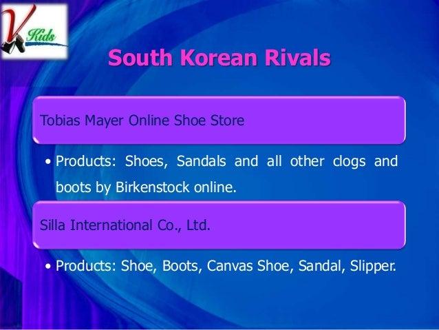 Shoe company business plan