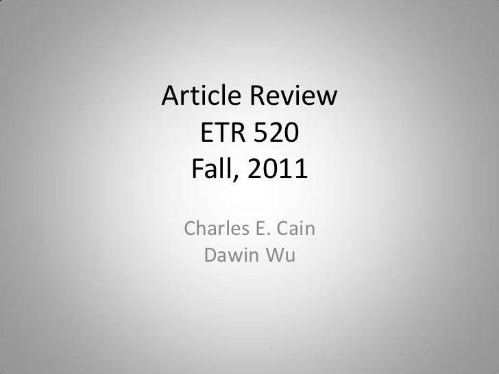 Vlach ETR520 Presentation