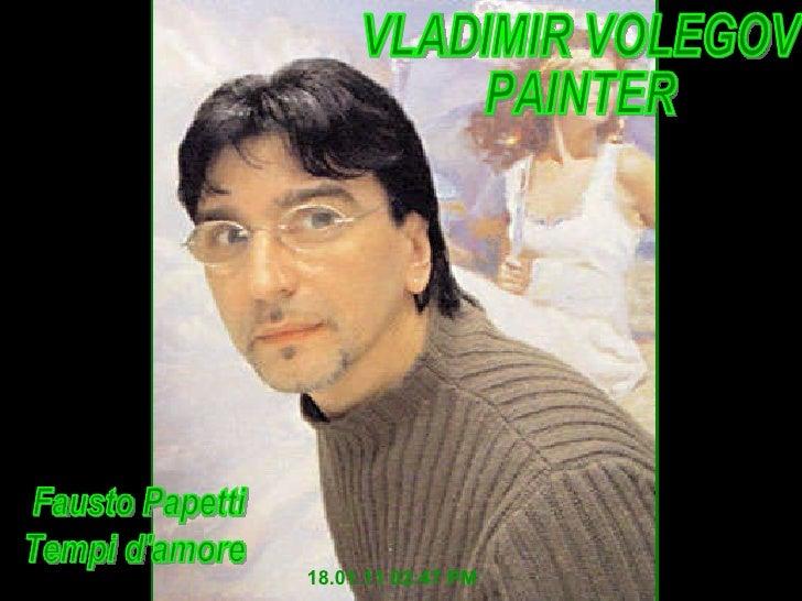 Vladimir volegov pintor