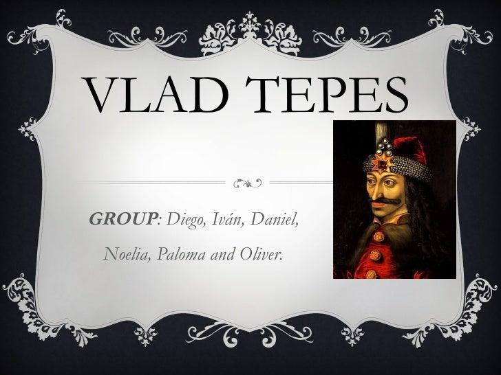 VLAD TEPESGROUP: Diego, Iván, Daniel,  Noelia, Paloma and Oliver.