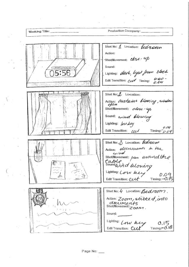 Vlasy, luke, claudia scanned storyboard