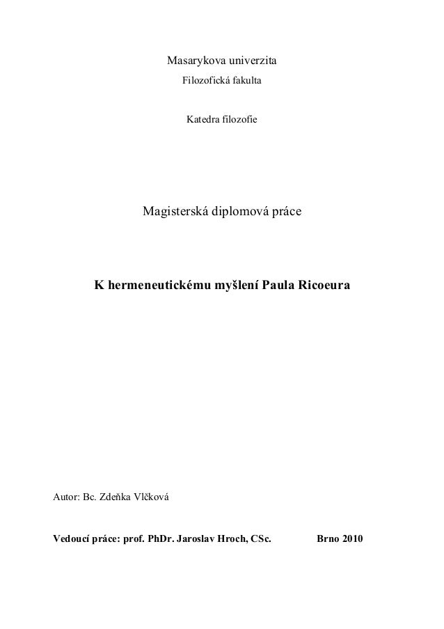 Vlckova diplomova prace