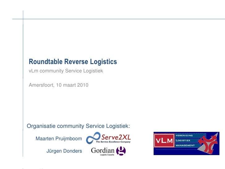 Vlm   Community Sl   Roundtable Reverse Logistics 10032010
