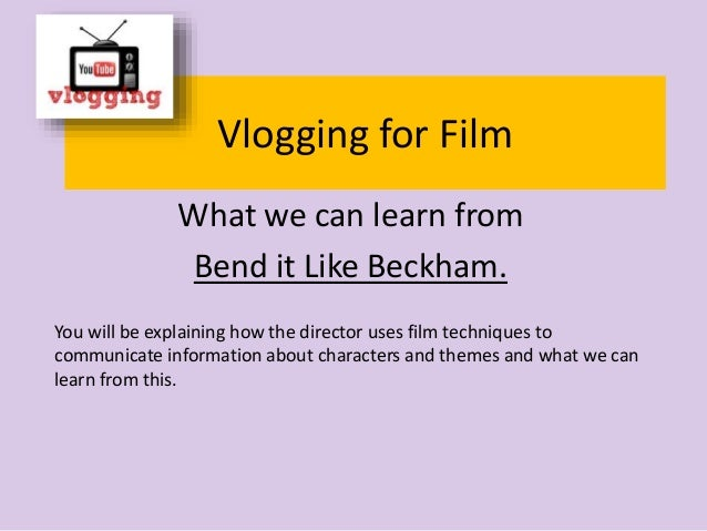 Bend it like beckham character analysis essay
