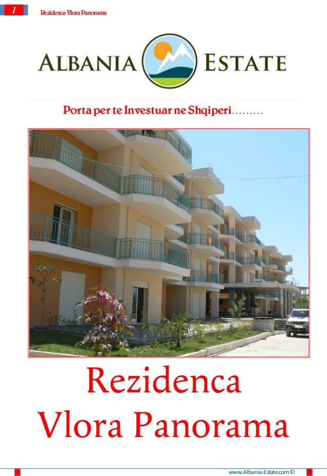 Apartamente per shitje ne Vlore - Vlora Panorama Residence