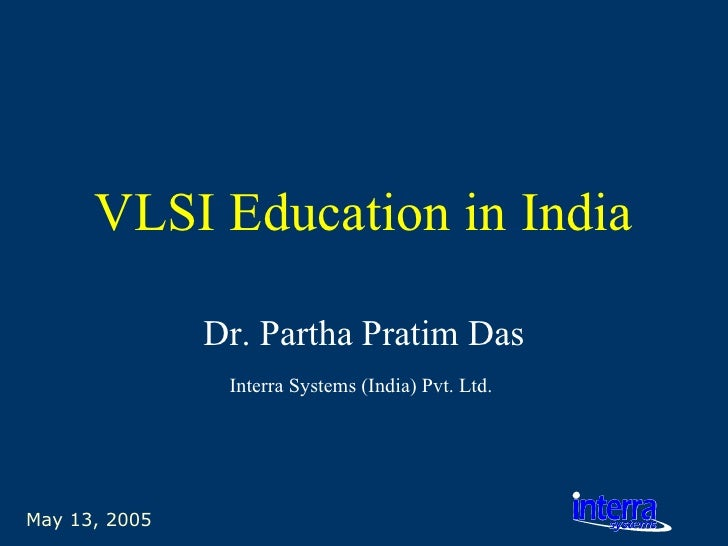 Vlsi Education In India