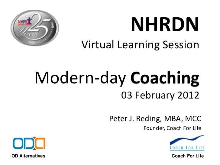 NHRDN VLS on Modern Day Coaching