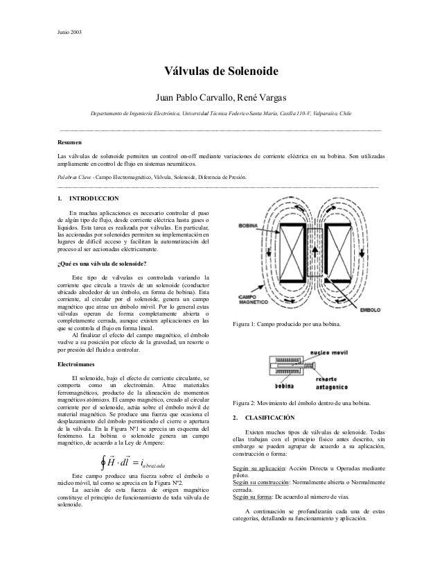 Junio 2003                                              Válvulas de Solenoide                                           Ju...